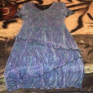 Gorgeous layered dress, size 12